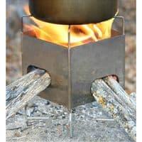 Folding Firebox Nano Stove (Gen 2) - X Case Kit - The Folding Fireboxes Little Brother!